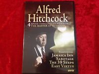 Alfred Hitchcock: 4 Spine Tingling Films From the Master of Suspense DVD
