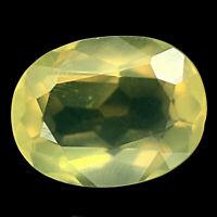 TOP OPAL : 3,53 Ct Natürliche Gelb Feuer Opal aus Mexiko