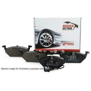 Remsa Disc Brake Pad Set - 123100UC (Rear) Suit Lexus, Toyota