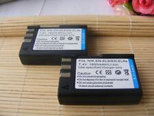 2X EN-EL9 EN-EL9a Battery Pack for Nikon D3000 D40 D40x D5000 D60 DSLR Camera