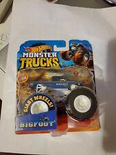 "Hot Wheels Monster Trucks- ""Big Foot"" 4x4x4 Old Blue Classic! Brand New!"