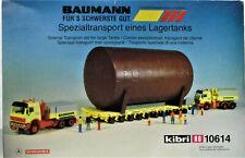 Kibri 10614 Baumann Heavy Duty Transport St Kit New Original Packaging HO Scale