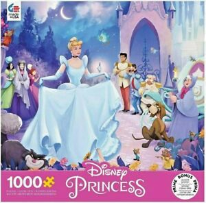 "Disney Princess 1000 Piece Jigsaw Puzzle Cinderella #5 (19"" x 26.6"") SEALED"