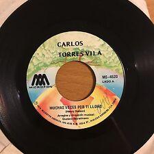 """Torres Vila-Muchas Veces Por Ti Lloro-7"""" 45-Microfon-Vinyl Record"""