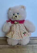 1998 Fisher-Price Briarberry Collection Berrylynn 9� Plush Bear Doll Pink