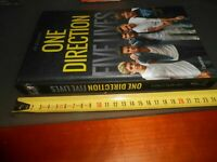 LIBRO -ONE DIRECTION - FIVE LIVES -JIM MALONEY -L'IPPOCAMPO