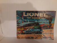 """LIONEL 1959 CATALOG SUPER """"O"""" HO """"O27"""" FULL COLOR 56 PAGES"""