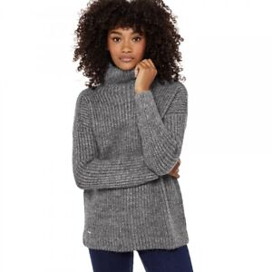 JOULES Prunella Jumper with Silver Thread Sz 8 16 18 RP£69.95 FreeUKP&P