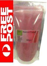 Pure Organic Grown Beetroot x 300gm Beta vulgaris Powder Seller Nutritionist