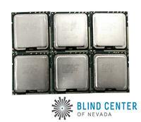 Lot of 6 Intel Xeon E5620 SLBV4 Quad Core 2.40Ghz 12 MB 5.86GT/s LGA 1366 CPU