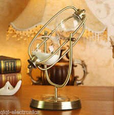 60 minute Rolating Sand Hourglass Sandglass Timer Clock home Decor Ornament Gift