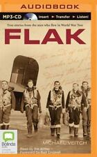 Flak by Michael Veitch (2015, MP3 CD, Unabridged)
