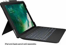 "New Logitech Slim Combo Keyboard Folio Case for Apple 10.5"" iPad® Pro and iPad"