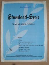 Standard-Serie Heft 8, Noten Klavier,Tabu,Hein spielt abends so schön u.v.a.