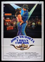 M188 Manifesto 2F Urban Cow Boy John Travolta James Bridges Debra Winger