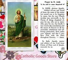 Prayer to St. Saint Jude (in despaired Cases) - Paperstock Holy Card