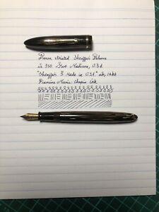 Brown Sheaffer's Balance 350 VacFill Fountain Pen - Restored