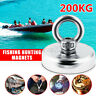 200Kg Starker Neodym Magnet D60mm Recovery Fishing Industrie Treasure  G D G