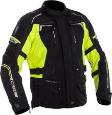 Richa Infinity 2 Jacket Black Fluo Textile Waterproof Motorcycle Jacket NEW