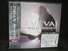 STEVE VAI Where The Wild Things Are JAPAN CD Whitesnake David Lee Roth F. Zappa