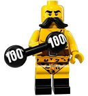 Genuine Lego 71018 Series 17 Minifigure w/ Poster no. 2 Circus Strong Man WH