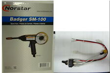 NORSTAR SM-100 BADGER SPOOLGUN-& SWITCH  FITS MILLERMATIC 135 & 175 MIG WELDERS