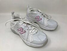 New! Women's NEW BALANCE 608V3 White/Pink SZ 6.5 WX608V3P D40