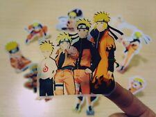 10 X Pegatina de Naruto Transparente Impermeable Fiesta De Cumpleaños Bolsa Regalo álbum De Recortes