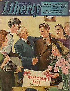 1945 Liberty March 17 - Society of Broken Hearts; mushrooms; Income Tax refunds
