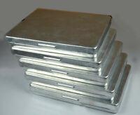 Put Box 1 Pack 12 Pcs//40mm Big Size Aluminium Jar With Glass Lid Set