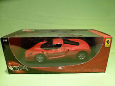 HOTWHEELS 56293  FERRARI ENZO - 1:18 - RARE SELTEN - NEAR MINT IN BOX