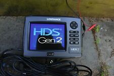 HDS7 Gen 2 Non-touch fishfinder.with Transducer, power cable, instructions.