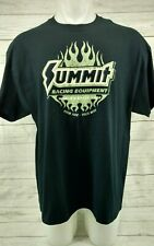 Summit Racing Equipment T Shirt Size X Large XL Black