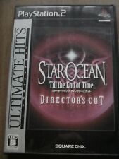 Star Ocean Till The End Of Time Ps2 Play Station 2 Japan Director's Cut