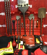 HILTI TE 70, L@@K, NEW MODEL TE 76, PREOWNED, LOADED BITS, GERMANY, FAST SHIP
