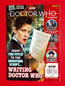 2021 BBC UK DOCTOR WHO MAGAZINE Special Edition #57 WRITING FOR DOCTOR WHO