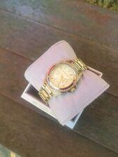 Damen Armband Uhr Michael Kors Mk 5639 Blair Gold Kristalle Chronograph