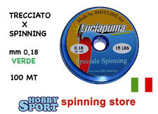 LUCIAPUMA DYNEEMA FILO TRECCIATO 15 LB SPINNING 0,18mm