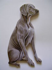 WEIMARANER DOG JUMBO SIZE FRIDGE MAGNET.NEW