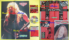 CD+POSTER EXODUS Bonded by blood CURCIO PROMO METAL HM-07 lp mc dvd vhs