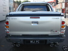 Custom Built Toyota Hilux Exhaust Stainless Dual Exit Twin Tailpipes
