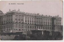 POSTCARD  SPAIN  MADRID  Palacio Real