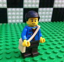 Lego City Town TRAIN TRAVELER Bag Commuter Minifigure Minifig