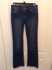 Kenneth Cole NY Sz 2 Dark Wash Straight Leg Skinny Denim Jeans Pants C1