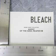 BLEACH Model Sheet Collection Agent of Soul Reaper 1 TITE KUBO Book