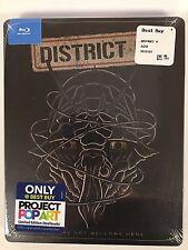District 9 Blu Ray Exclusive Pop Art Best Buy Steelbook Collectible NEW