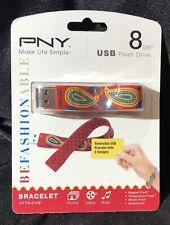 PNY USB Bracelet 8gb Reversable