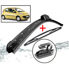 Wiper Blades For Peugeot 107 Toyota Aygo Citroen C1 2007 2008 2009 10 Front Rear