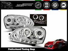 FARI ANTERIORI HEADLIGHTS LPVWB7 VW GOLF V 2003-2006 2007 2008 2009 ANGEL EYES