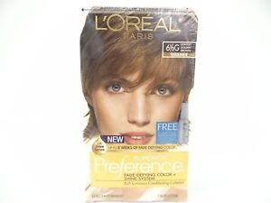 New L'Oreal Paris Super Preference Fade Defying Lightest Golden Brown Haircolor